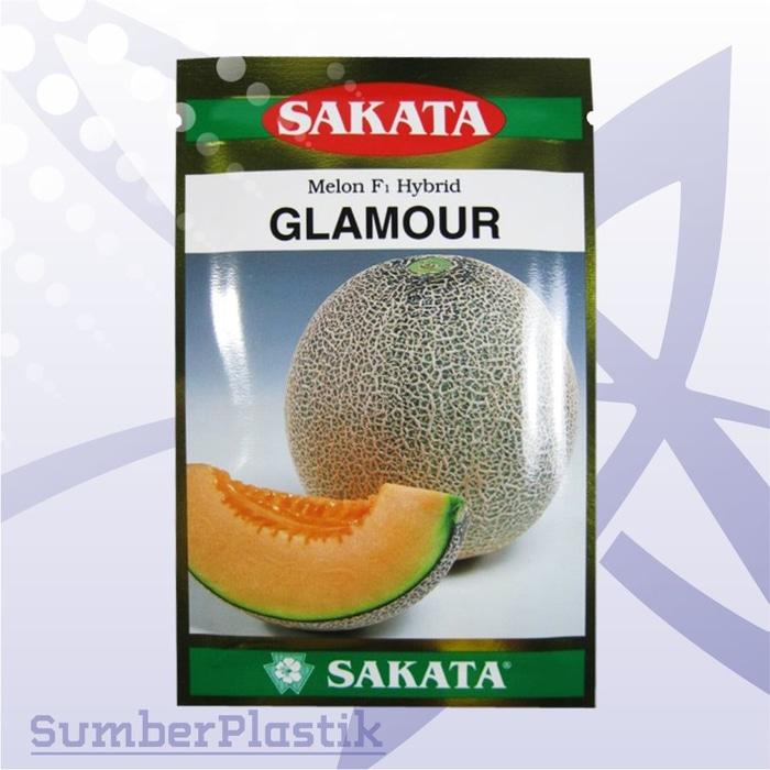Benih Pertanian Melon Kuning F1 Hybrid GLAMOUR SAKATA