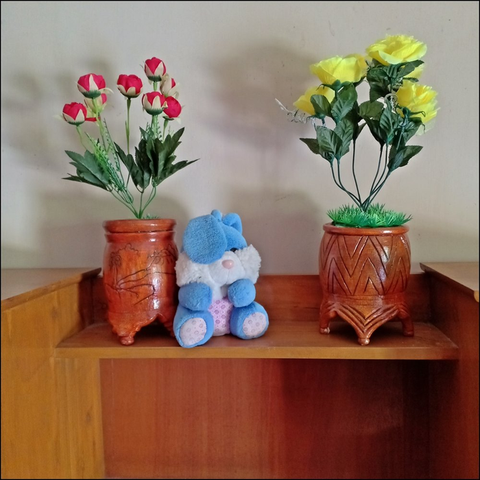 Contoh Vas Bunga Dari Botol Plastik