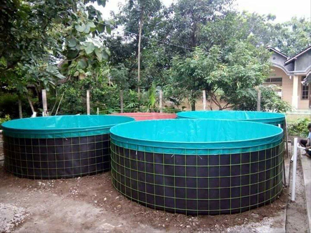 keunggulan menggunakan kolam terpal bundar