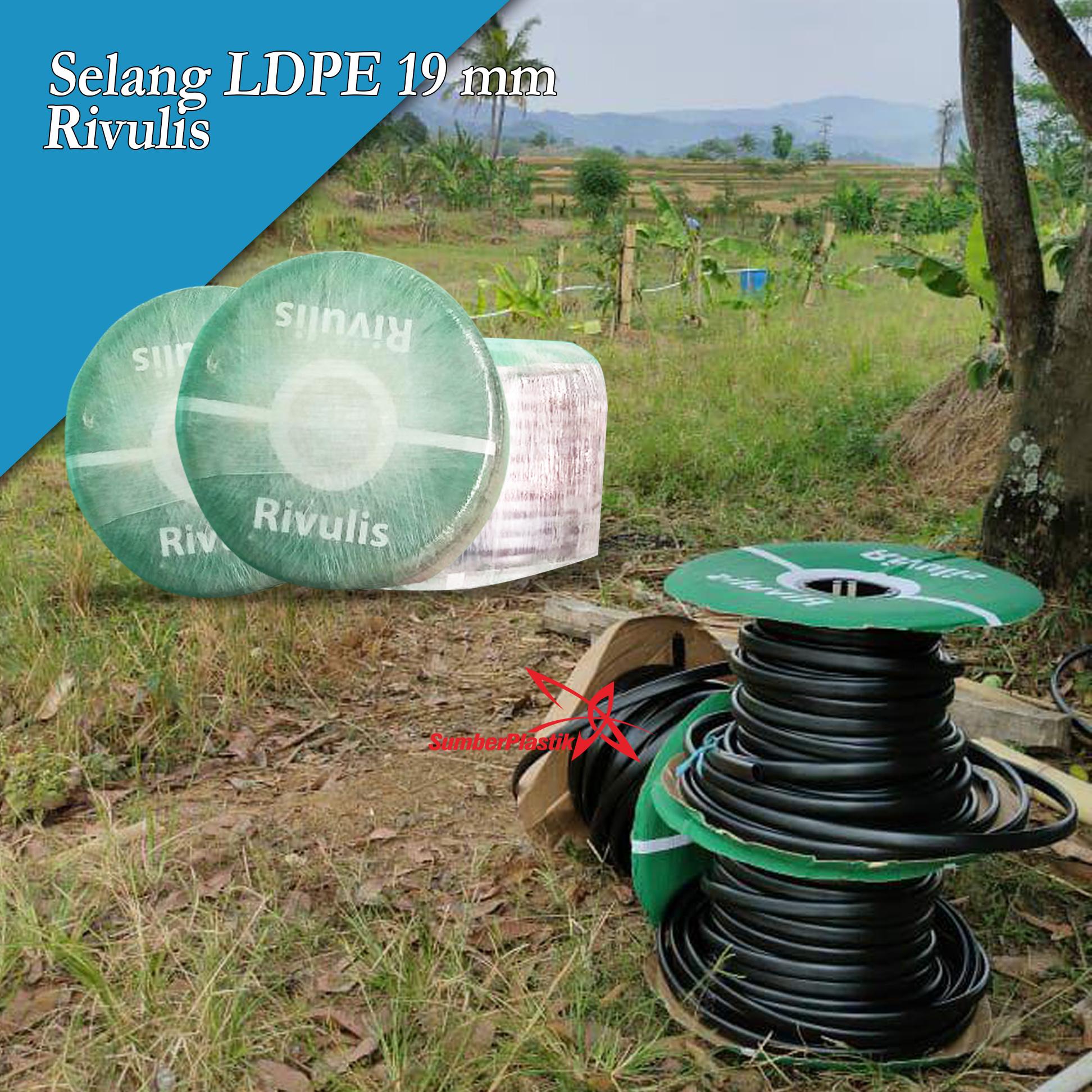 selang irigasi LDPE 19 mm 1