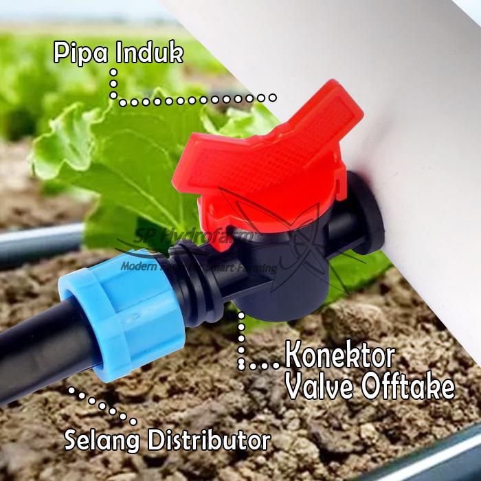 sekarang kita bahas tentang konektor untuk alat bantu menyambungkan antar selang distributor,