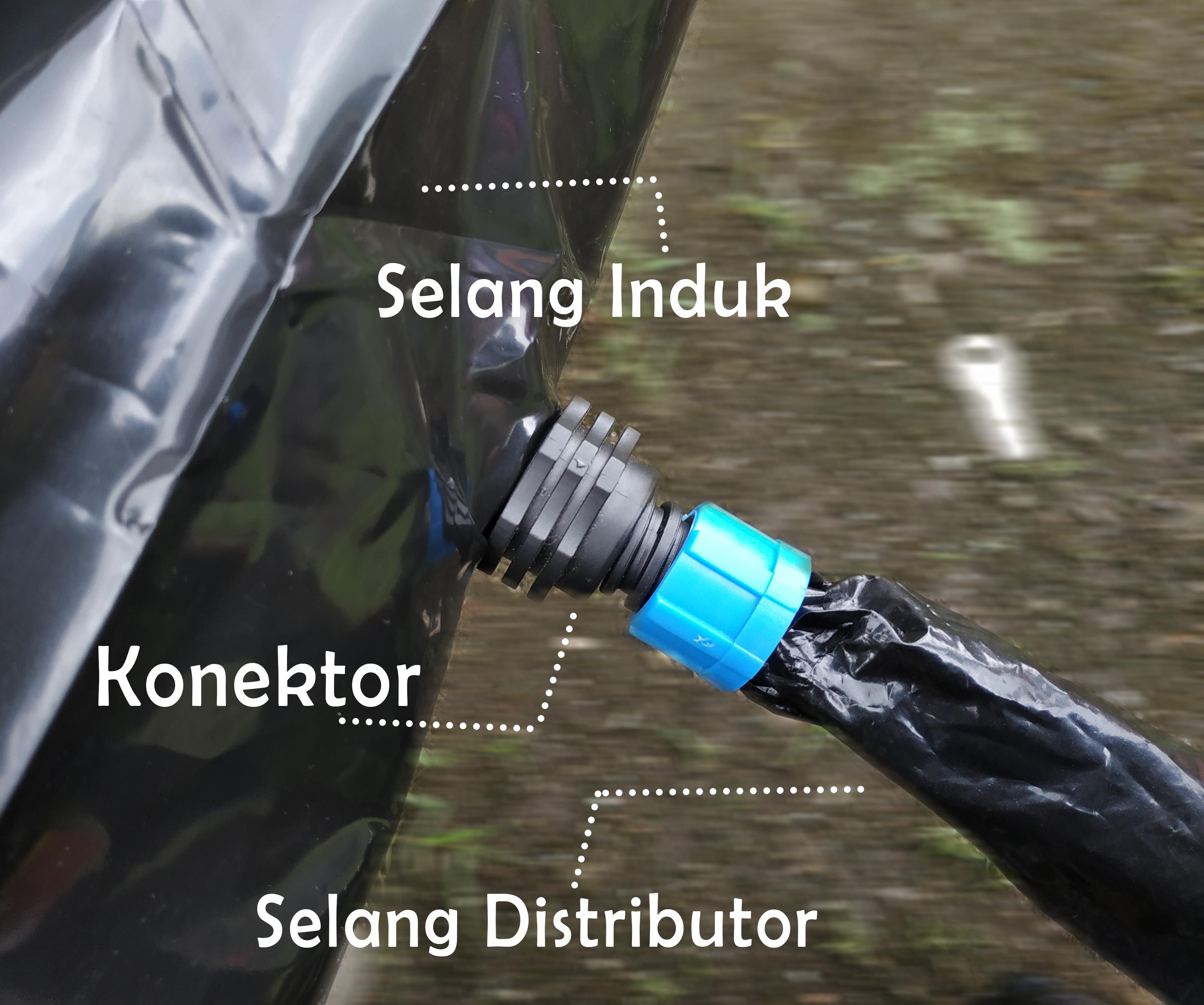 Konektor untuk Selang Irigasi