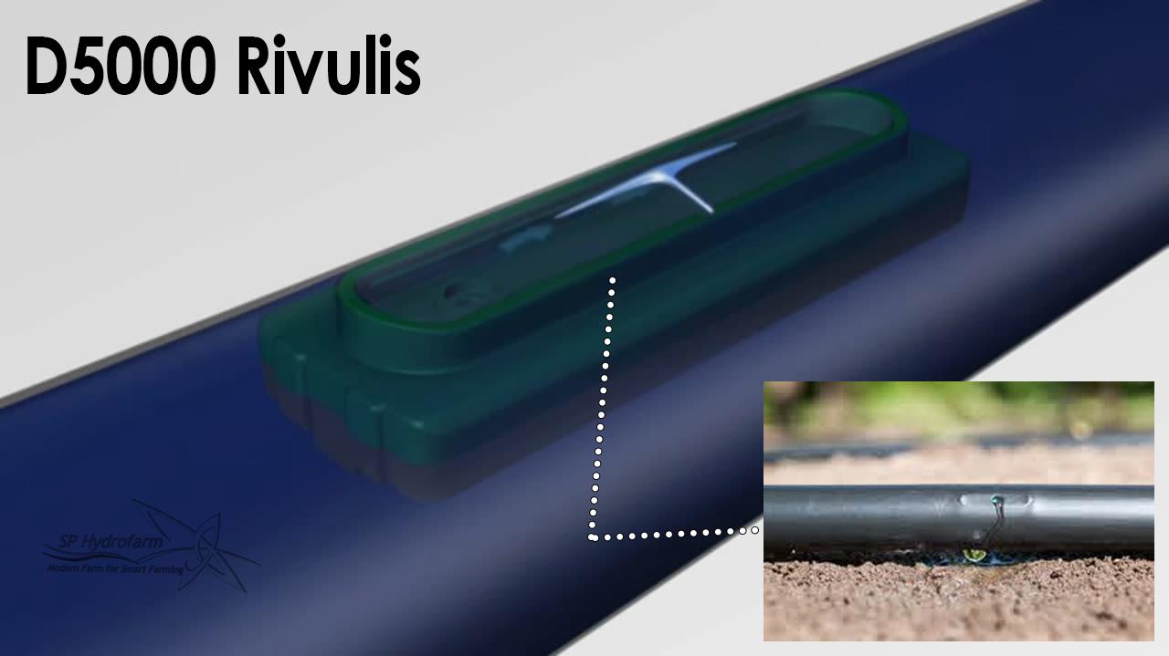 selang irigasi rivulis D5000